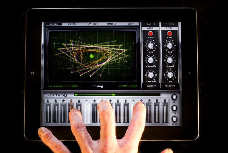 Animoog App Review: The iPad Revolution Will Not Be